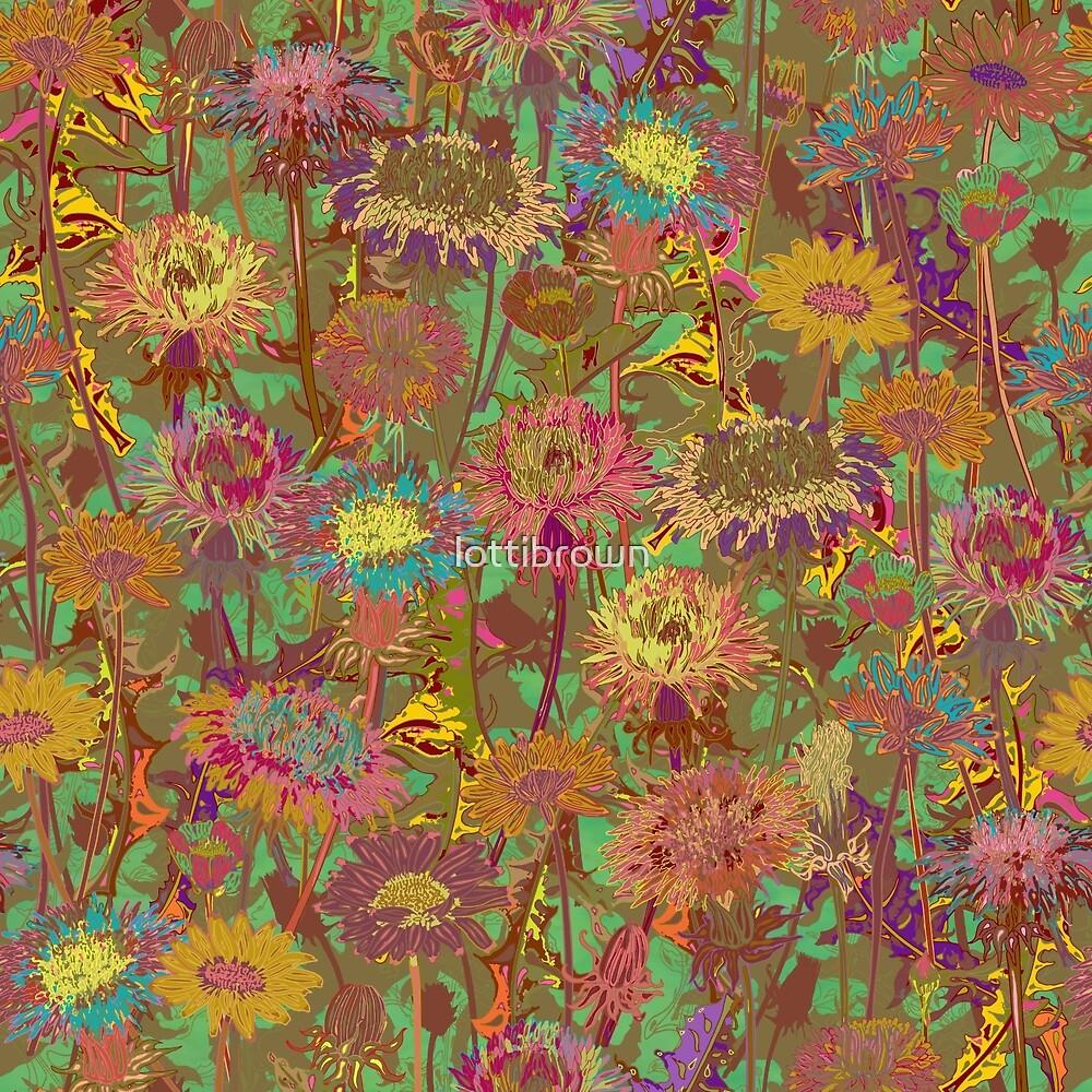 Dandelion Dawn by lottibrown