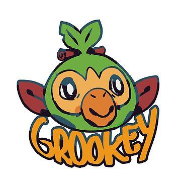 Grookey  de plieguito