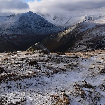 Lake District: Catstycam from Sheffield Pike by rob3003