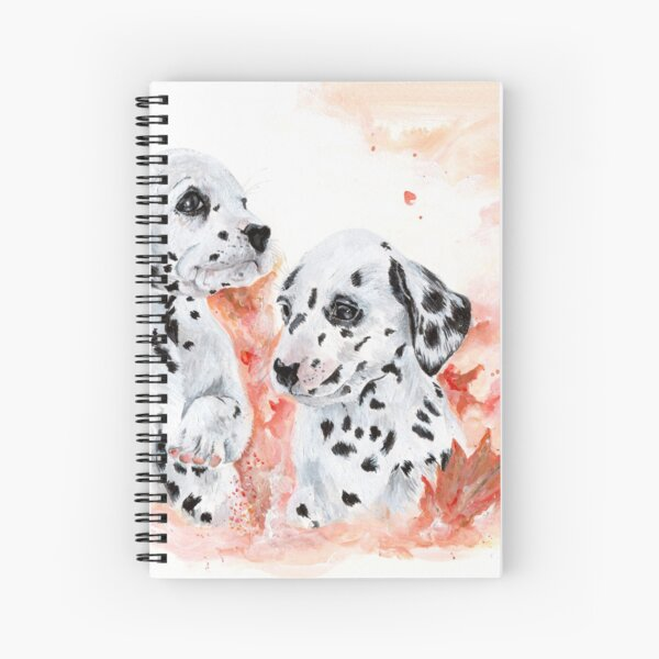 Autumn and Fall Spiral Notebook