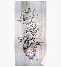 Driftwood Heart 02 Poster