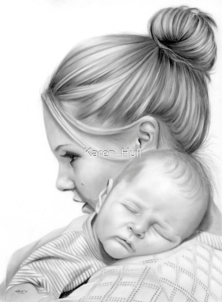 Tracy and Peyton by Karen  Hull
