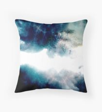 Cosmic Collisions  Throw Pillow
