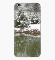 snowy reflections iPhone Case