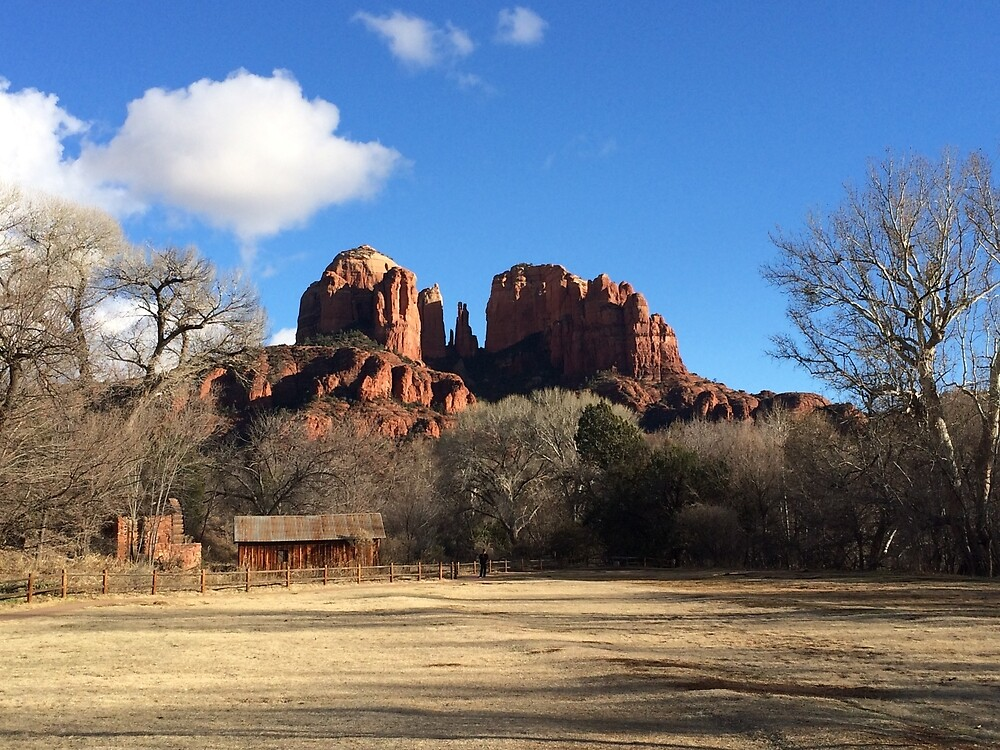 Cathedral Rock, Arizona Red Rock Country by ashleyschneider