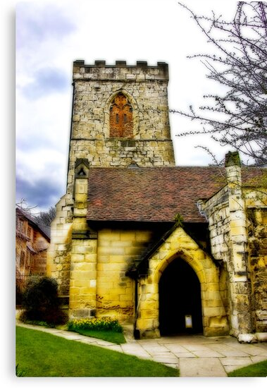 Holy Trinity Church - Goodramgate,York by Trevor Kersley