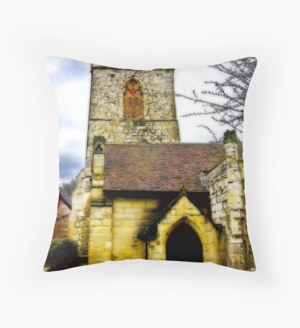 Holy Trinity Church - Goodramgate,York Throw Pillow