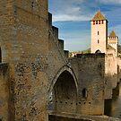 Valentré Bridge, Cahors by Amanda White