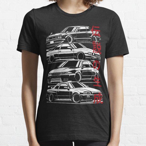 Skyline GTR Generation Essential T-Shirt