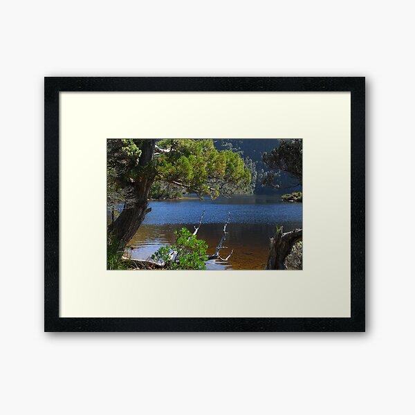 Pristine landscape Framed Art Print