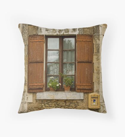French Charm Throw Pillow