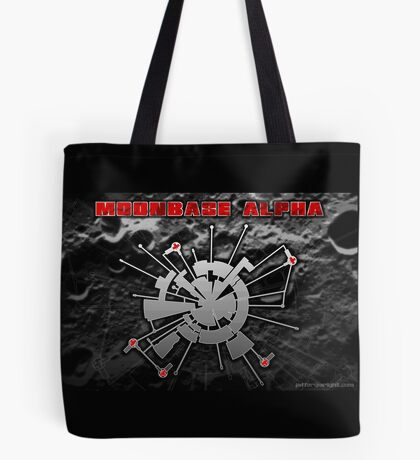 Moonbase Alpha Print Tote Bag