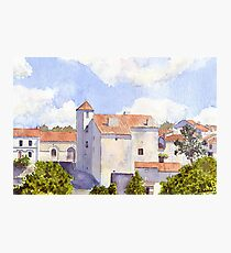 The Old Chateau at Montbron Photographic Print