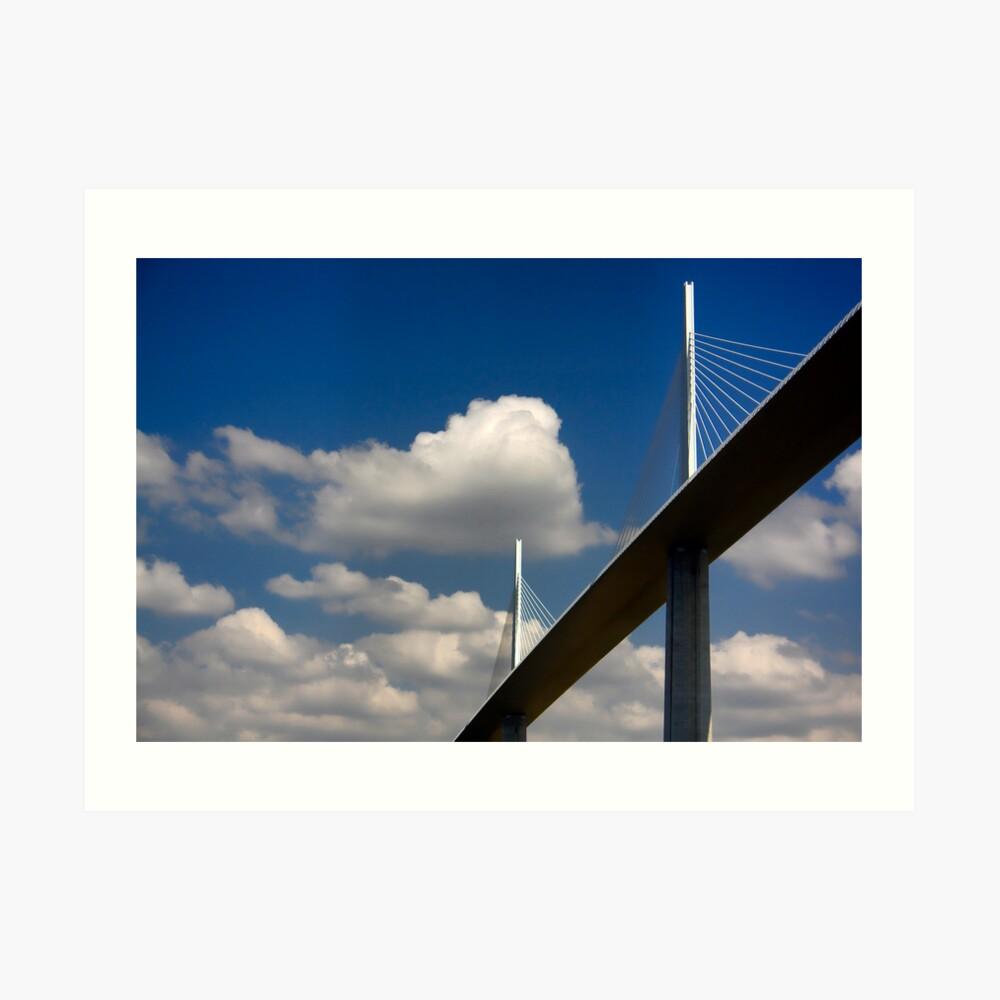 The Millau Viaduct Art Print