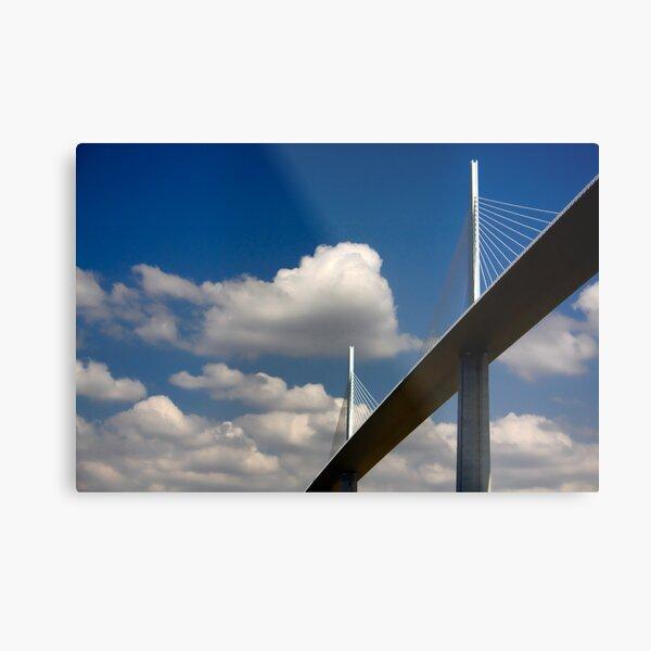 The Millau Viaduct Metal Print