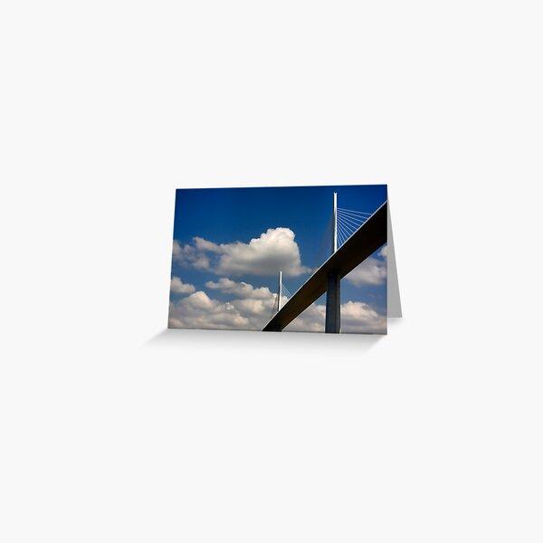The Millau Viaduct Greeting Card