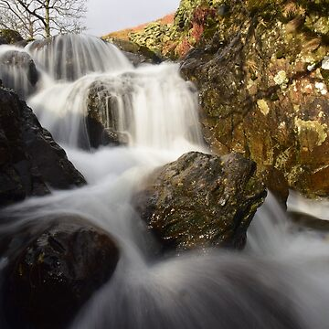 Lake District: Riggindale Beck in Full Flow by rob3003