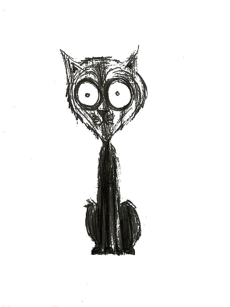 Tim Burton Style Cat by thewaysslay