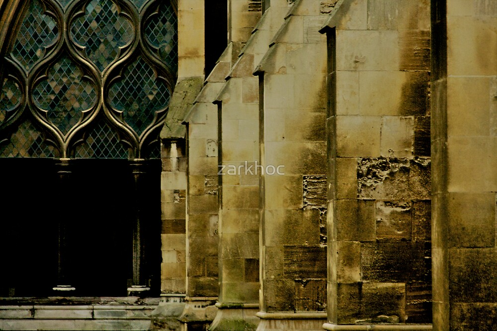 I wonder how many souls have touched those walls... by zarkhoc