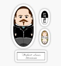 LitPills - Robert Louis Stevenson (Classics Series) Sticker