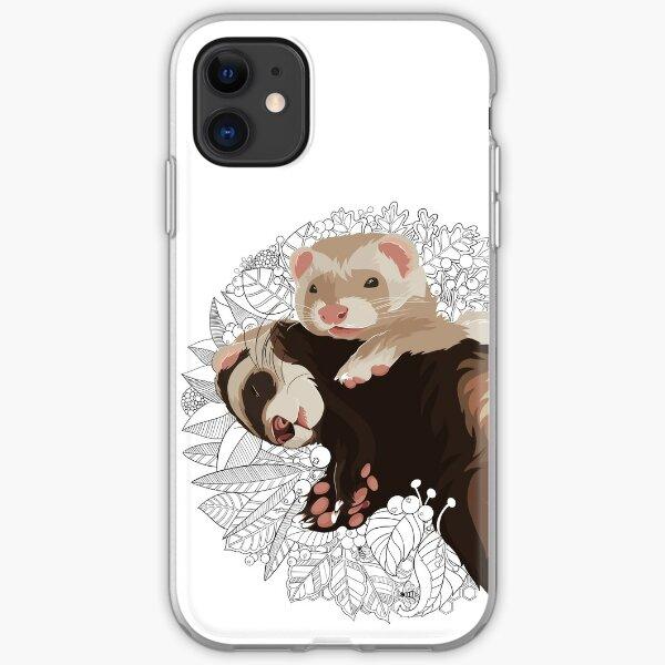 Ferret Art #2 - ElinationART  iPhone Soft Case