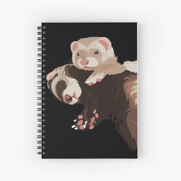 Arte del hurón # 2 - ElinationART Cuaderno de espiral