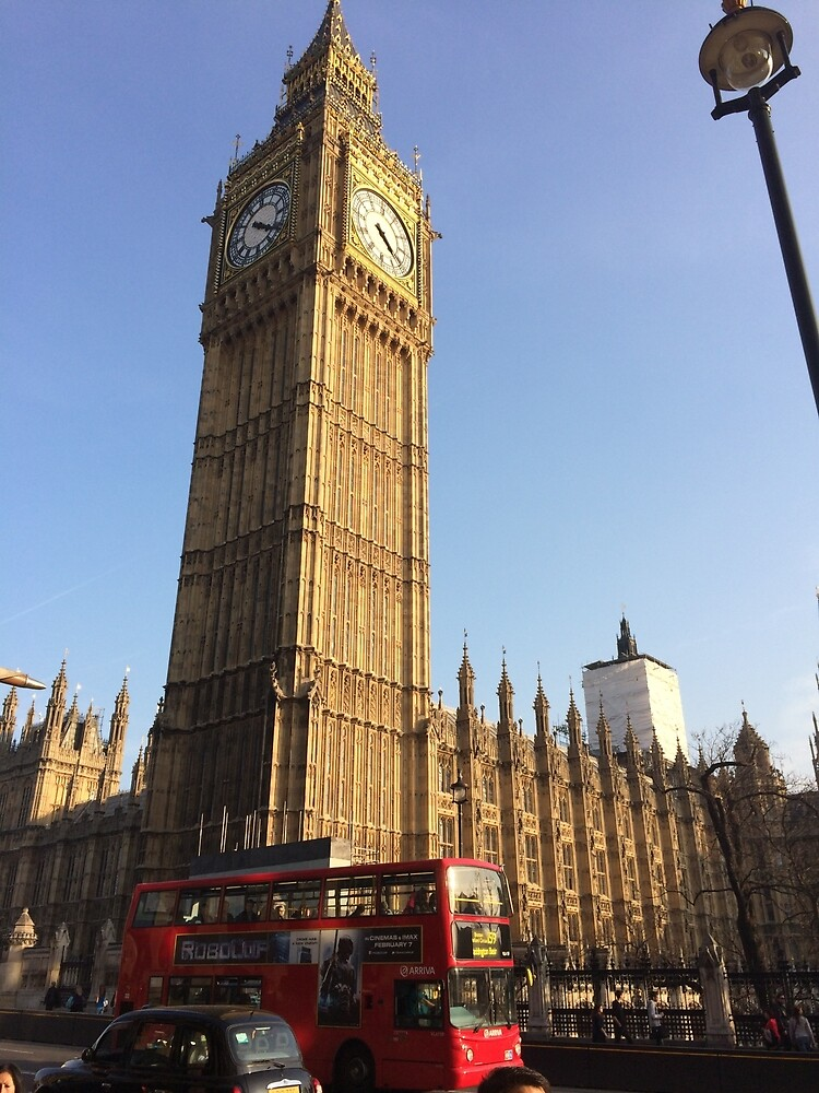 London Big Ben  by ashleyschneider