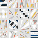 Abstract Four by -Patternation-