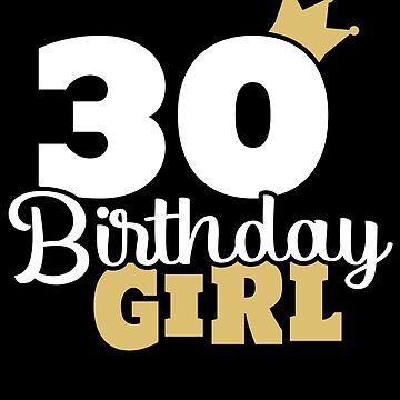 30 years 30th birthday Round 1989 gift by Rueb