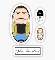 LitPills - John Steinbeck (Classics Series) Sticker