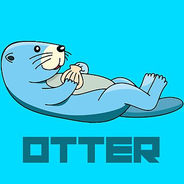Baby Otter von Castiel3