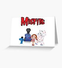 Misfit Toys Greeting Card