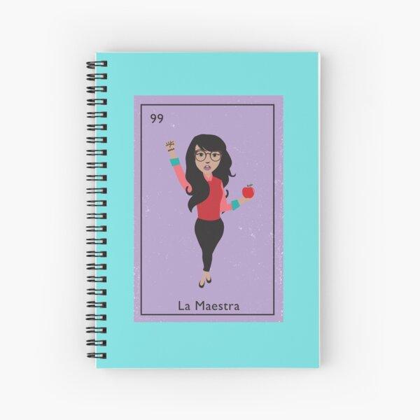 La Maestra Spiral Notebook