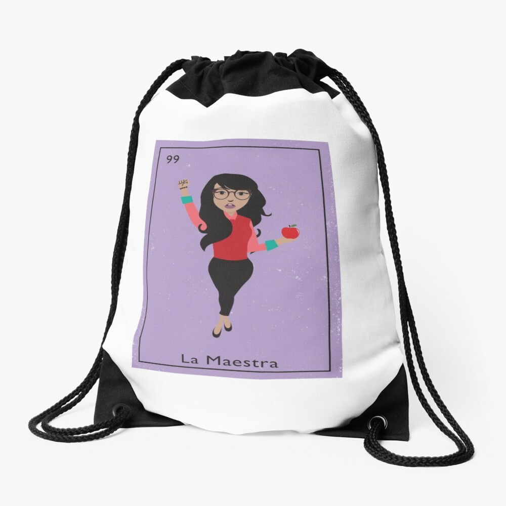La Maestra Drawstring Bag