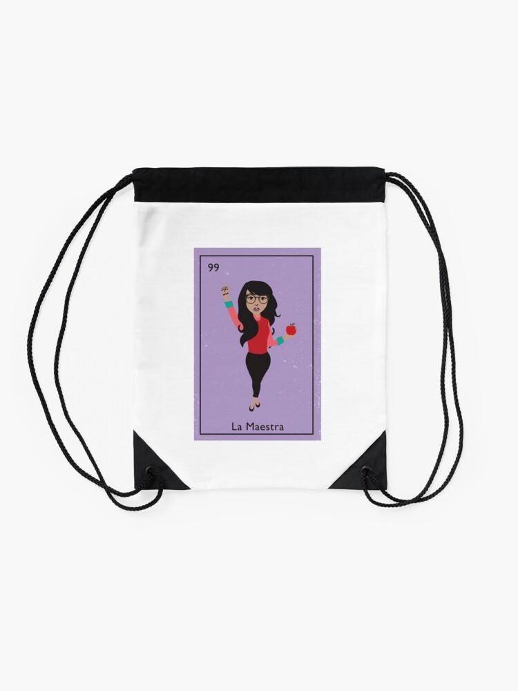 Alternate view of La Maestra Drawstring Bag
