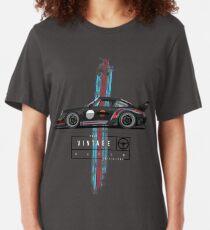 True vintage racer (2) Slim Fit T-Shirt