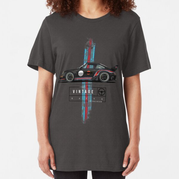 True vintage racer (2) Slim Fit T-Shirt