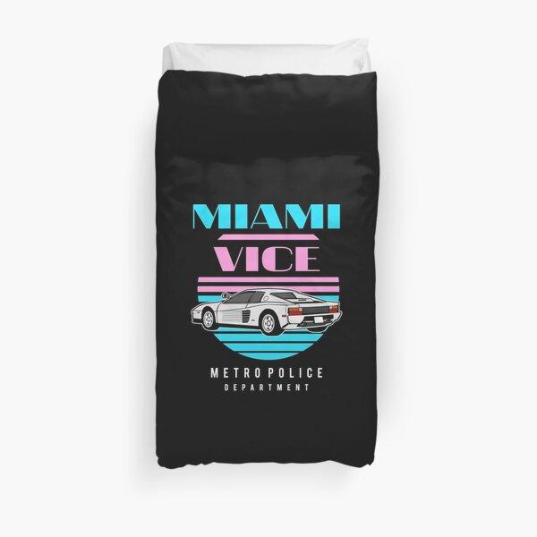 Miami Vice Duvet Cover