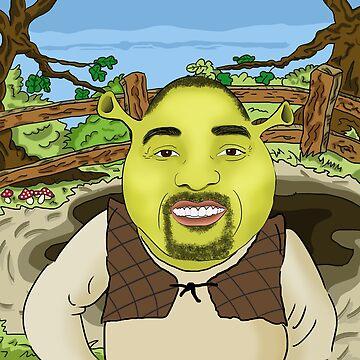 Will Smith is Shrek Meme by Barnyardy