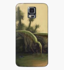 Cretaceous England Scene. Wessex Formation. Paleoart Case/Skin for Samsung Galaxy
