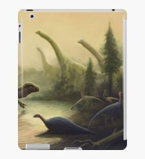 Cretaceous England Scene. Wessex Formation. Paleoart iPad Case/Skin