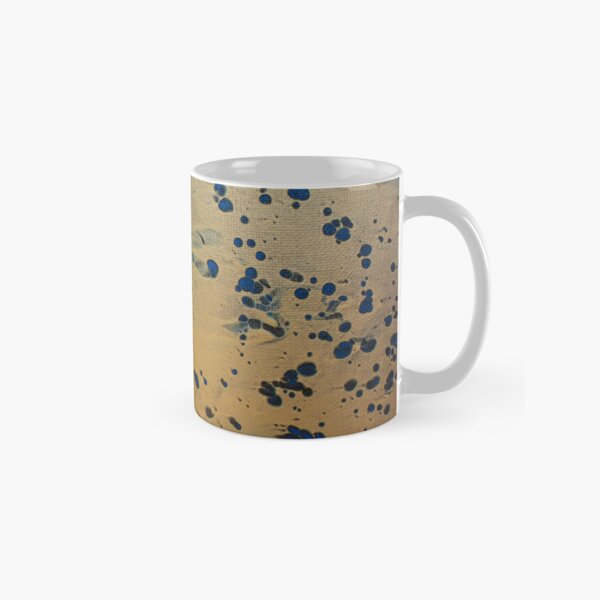 Gold Rush - Abstract Acrylic Painting Classic Mug