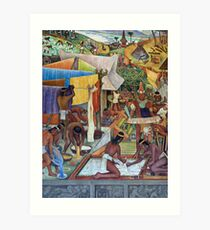 The National Palace murals, Mexico City Art Print