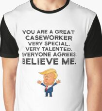 Caseworker Funny Trump Graphic T-Shirt