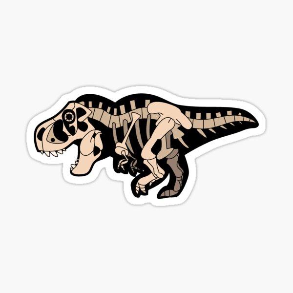 Tyrannosaurus Skelly Sticker