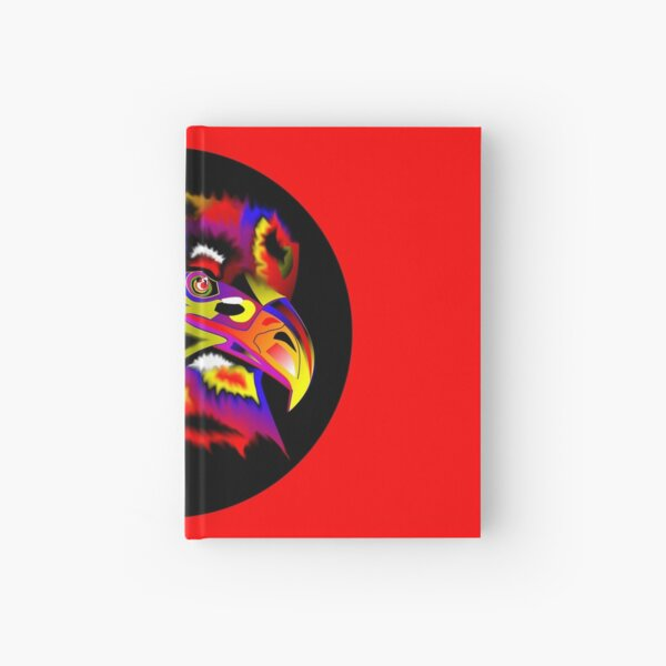 """""""Do Come And Fuck With Me"""", spirit animal eagle Hardcover Journal"""