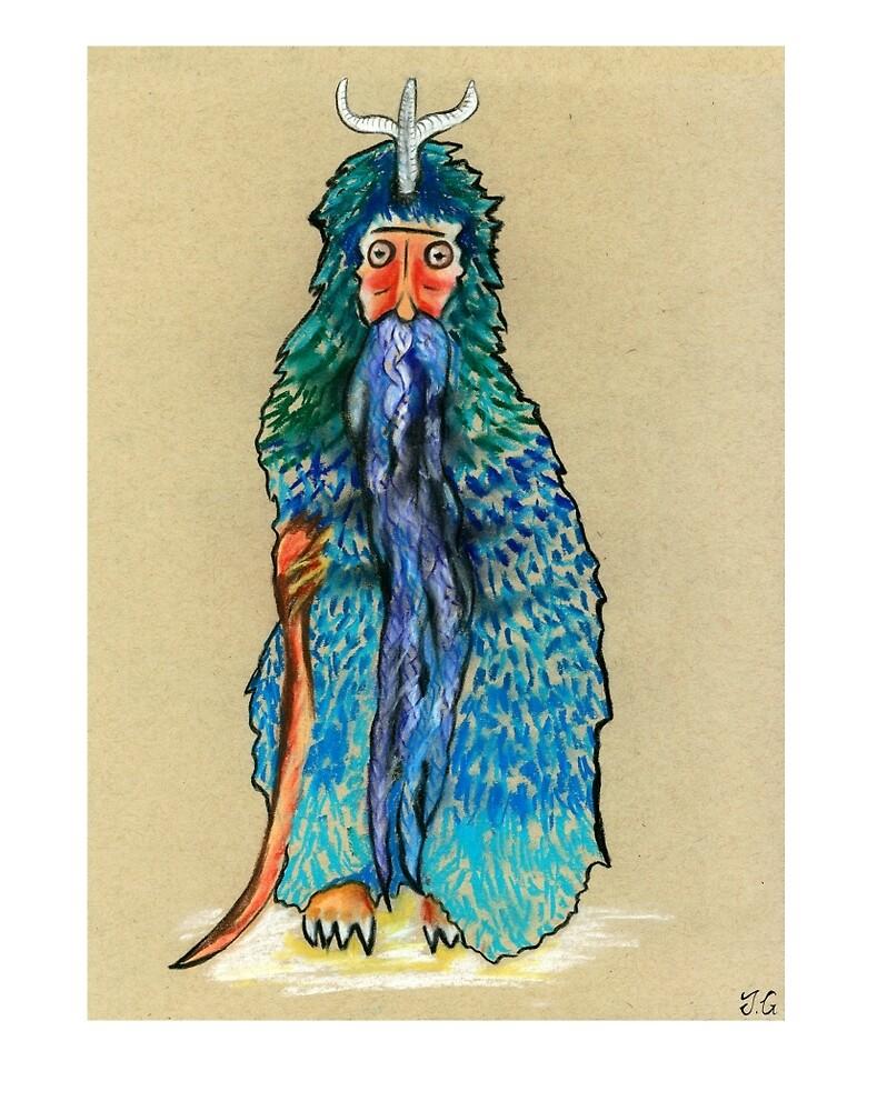Penguin man by JenniferEGreen
