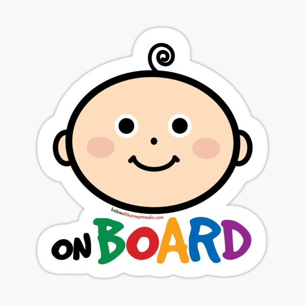 Baby on Board Stickers Sticker