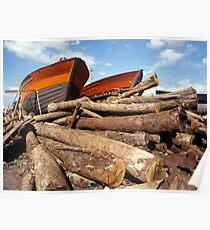 Build fishing boats Poster