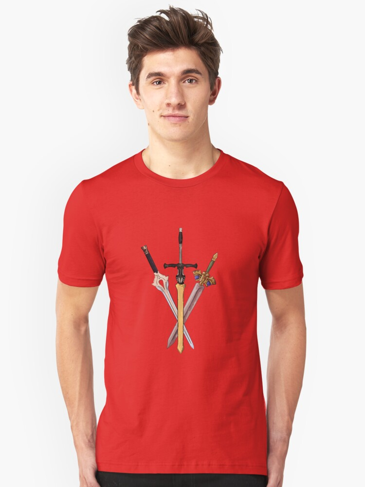 Fire Emblem - Legendary Swords Unisex T-Shirt Front